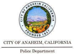 Anaheim Police training