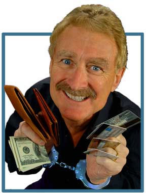 Bob Arno, comedy pickpocket entertainer